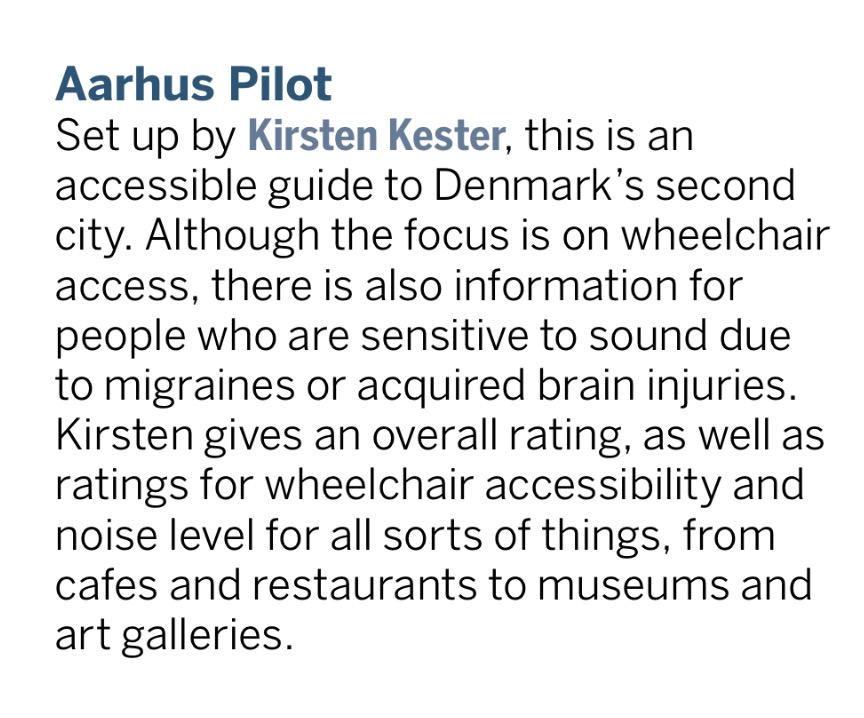 Lonely Planet review | AArhusPilot.com | Kirsten K. Kester