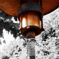 Strik på gadelampe