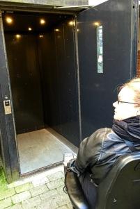 Elevator by Gyngen © AarhusPilot   Kirsten K. Kester