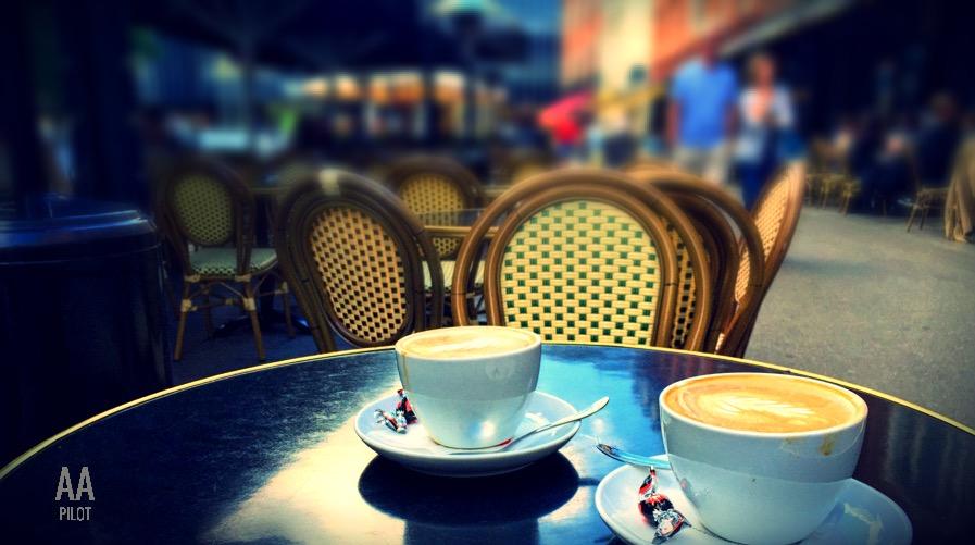 cups of coffee © AarhusPilot   Kirsten K. Kester