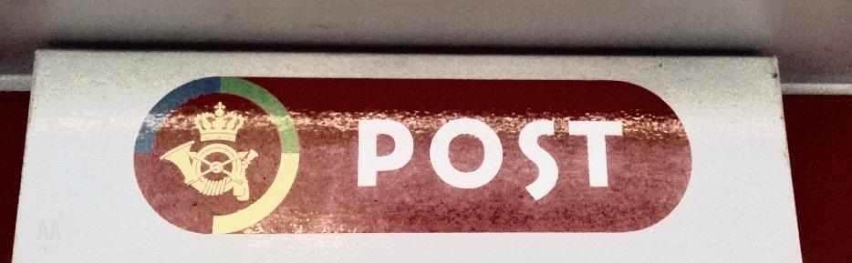 PostNord - Ankersgade © AArhusPilot.com | Kirsten K. Kester